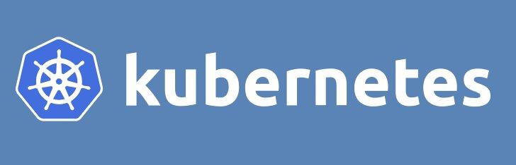 The Kubernetes logo.